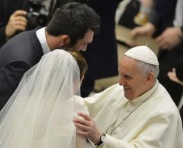 «Pidamos por todos los esposos, especialmente por los que pasan por dificultades», el Papa Francisco en su catequesis