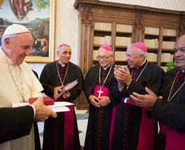 Papa recibe obispos dominicanos